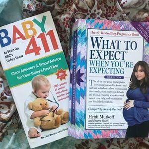 Pregnancy/baby book bundle